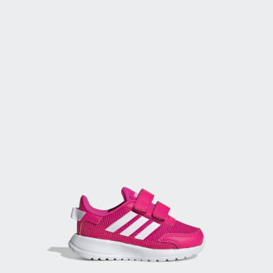 Girls Running Pink Tensaur Shoes