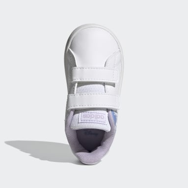 Infants Sport Inspired White Advantage Shoes