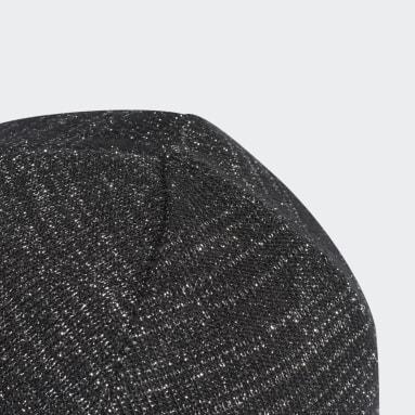 Berretto adicolor Cuff Knit Glitter Nero Originals