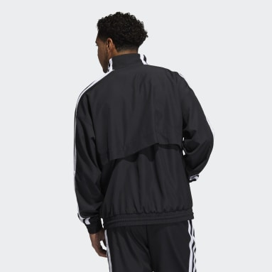 Men's Basketball Black Summer Legend Windbreaker