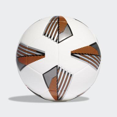Kids Football White Tiro League Junior 350 Ball