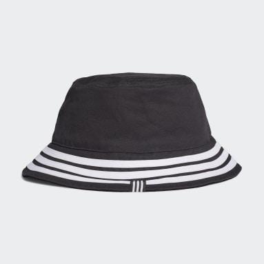 Originals černá Klobouk Reversible Velvet Bucket