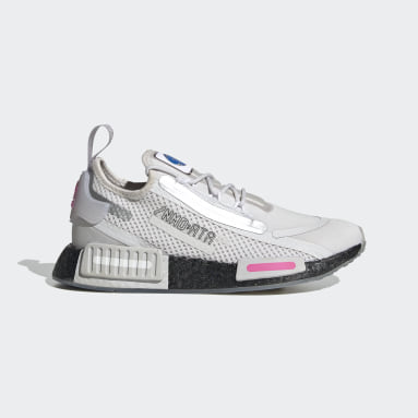 Youth Originals Grey NMD_R1 Spectoo Shoes