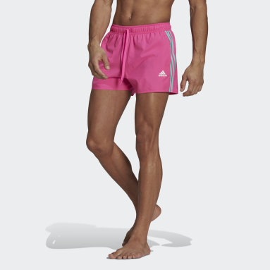 Classic 3-Stripes Swim Shorts Rosa