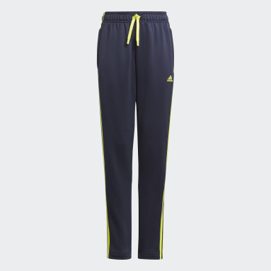 Pantalon Design 2 Move 3-Stripes Bleu Garçons Sportswear