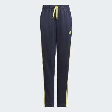Pantaloni Designed 2 Move 3-Stripes Blu Ragazzo Sportswear