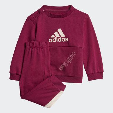 Girls Sportswear Burgundy Classics Jogging Set