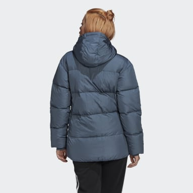 Women Originals Green Down Puffer Jacket