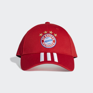 Cappellino Baseball FC Bayern München Rosso Calcio