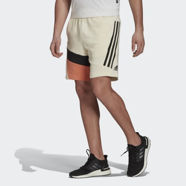 Men's Sportswear White adidas Sportswear 3-Stripes Tape Summer Shorts