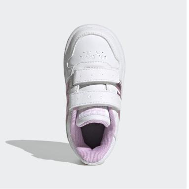 Kinder Basketball Hoops 2.0 Schuh Weiß