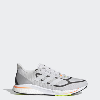 Men Running Grey Supernova+ Shoes