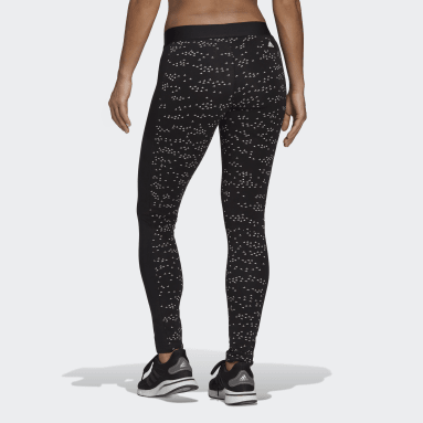 Women's Sportswear Black adidas Sportswear Allover Print Leggings