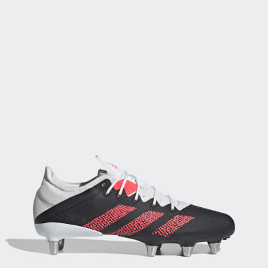 Rugby Black Kakari Z.0 Soft Ground Boots