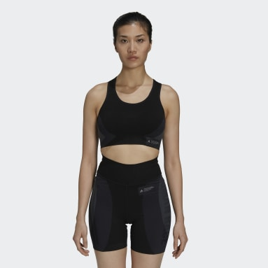 Women's Running Black Pharrell Williams 18GG Bra