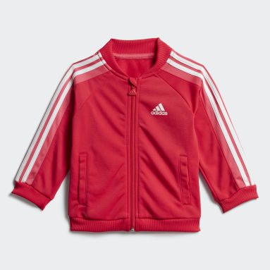 Kids Gym & Training Pink Shiny Tracksuit