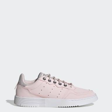 Chaussure Supercourt Rose Femmes Originals