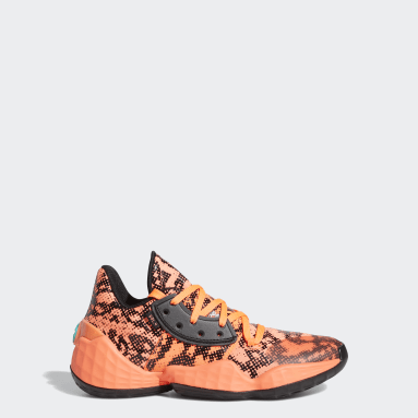 Youth Basketball Orange Harden Vol. 4 Shoes