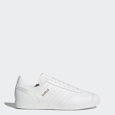 Men Originals White Gazelle Shoes