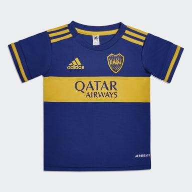 Mini Uniforme Bebé Local Boca Juniors 20/21 (UNISEX) Azul Niño Fútbol