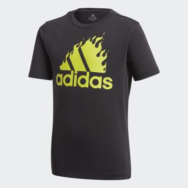 Camiseta Estampada Preto Meninos Training