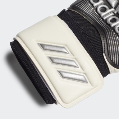 Soccer White Classic League Gloves