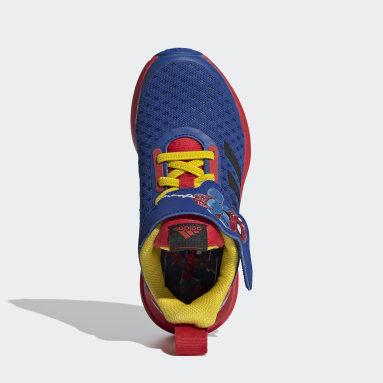Chaussure FortaRun Super Hero Bleu Enfants Running