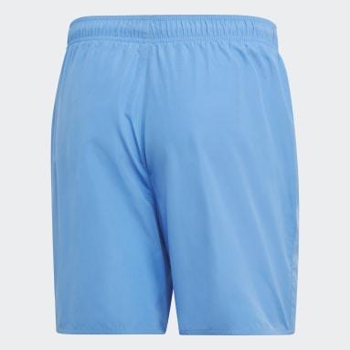 Herr Vattensporter Blå Solid Badshorts