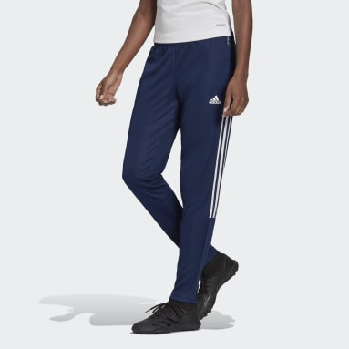 Women's Lifestyle Blue Tiro 21 Track Pants