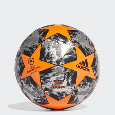 Men Football Orange UCL Finale 19 Capitano Football