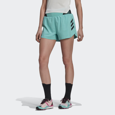 Dames TERREX Groen Terrex Parley Agravic All-Around Short