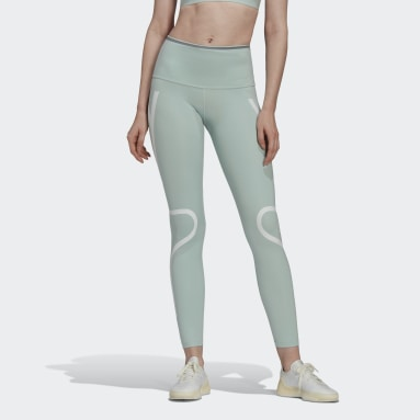 Frauen adidas by Stella McCartney adidas by Stella McCartney TruePace lange Tight Grün