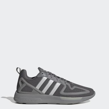 Originals Grey ZX 2K Flux Shoes