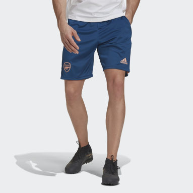 Men Football Blue Arsenal Shorts