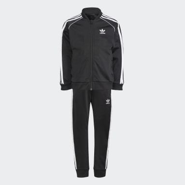 Children Originals Black Adicolor SST Track Suit