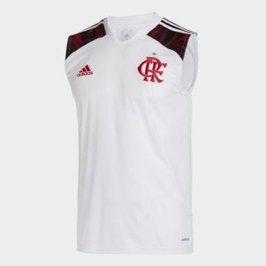 Regata 2 CR Flamengo 21/22 Branco Homem Futebol
