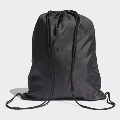 Volleyball Black Essentials Logo Gym Sack
