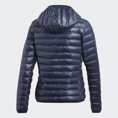 Women City Outdoor Blue Varilite Down Jacket