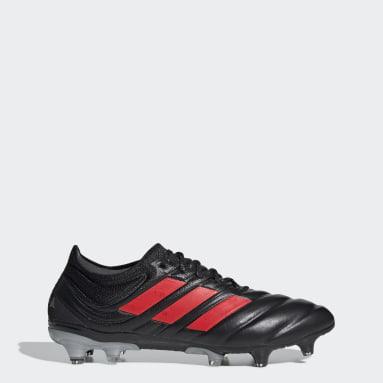Men Football Black Copa 19.1 Firm Ground Boots