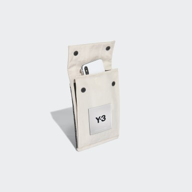 Y-3 Beige Y-3 CH3 Pocket Tas
