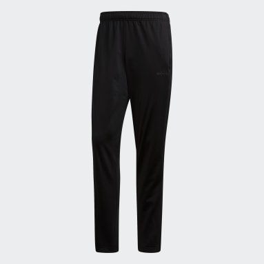 Pantalon Essentials 3-Stripes Tapered noir Hommes Essentials