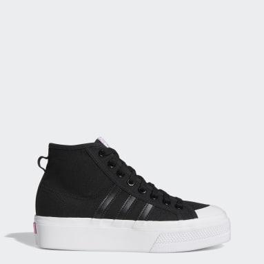 Dam Originals Svart Nizza Platform Mid Shoes