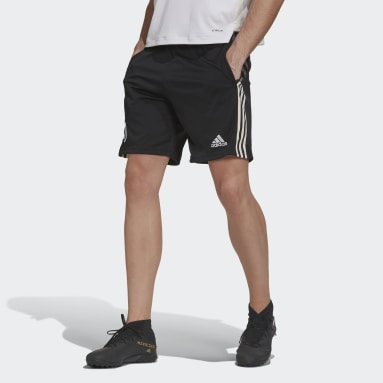 Men's Soccer Black Juventus Shorts