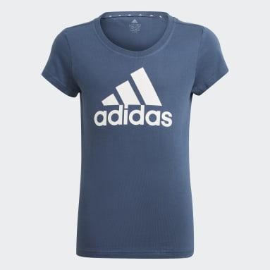 Meisjes Sportswear Blauw adidas Essentials T-shirt