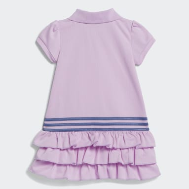 Infant & Toddler Training Purple Polo Dress
