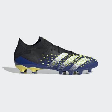 Football Black Predator Freak.1 Artificial Grass Boots