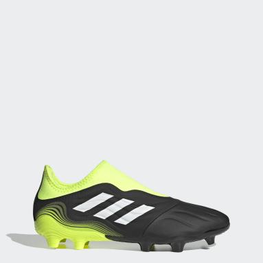Chaussure Copa Sense.3 Laceless Terrain souple noir Hommes Soccer