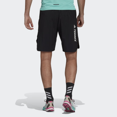 Herr TERREX Svart Terrex Parley Agravic All-Around Shorts