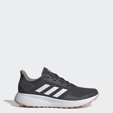 Women Running Grey Duramo 9 Shoes