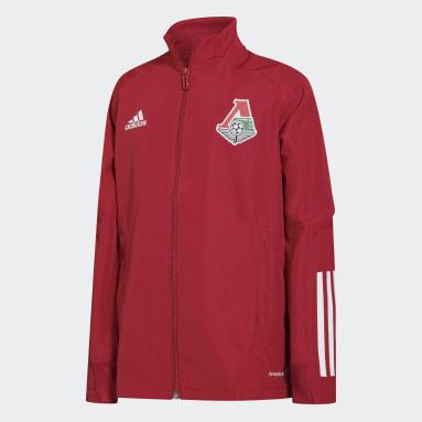 серый Детская гимновая куртка ФК Локомотив